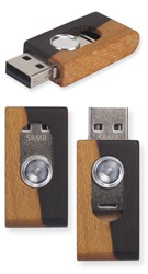 Holz-USB-Stick Stash Zirikote Splint